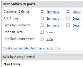 Reckon Account Right (formerly Quickbooks) – Manage Receivables with the Payment Snapshot