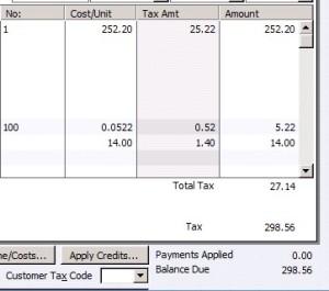 Reckon/Quickbooks Online – Is GST being added twice?