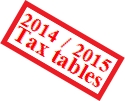 MYOB – Need Payroll Tax Tables for 2014-2015