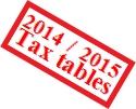 MYOB – Need Payroll Tax Tables for 2014-2015