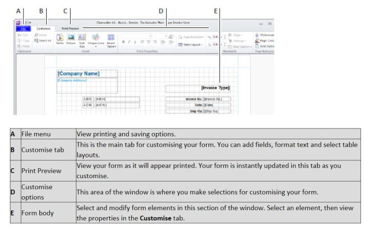 MYOB – Tidy up for Professional Statements and Invoices