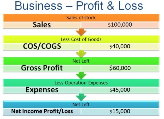 Business Finance   Profit And Loss Statement  What It Tells Us