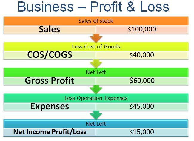 ... Bus Profit Loss Diagram  Business Profit Loss Statement