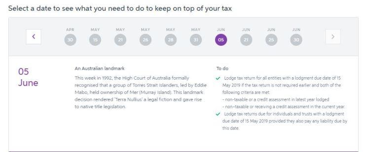 MYOB YE tax Planner 2019